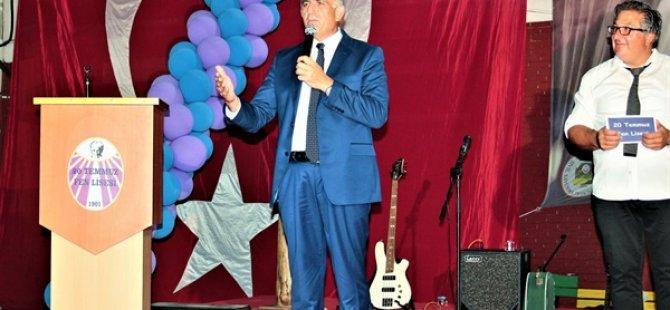 Eğitim Bakanı Çavuşoğlu, 20 Temmuz Fen Lisesi mezuniyet törenine katıldı