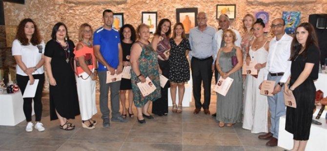 Girne Belediyesi Sanat Atölyesi Resim ve Seramik Sergisi açıldı