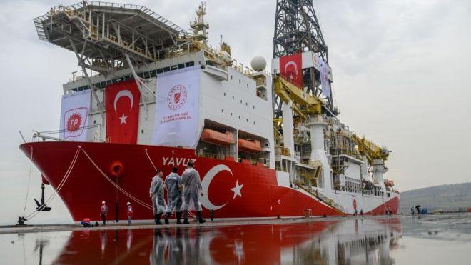 Bölgede savaş gemileri varsa Eni Kıbrıs'ta sondaj yapmayacak