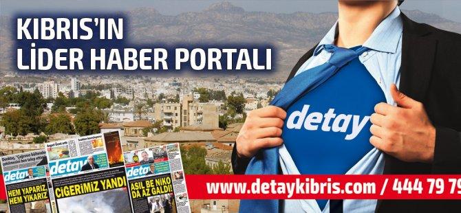 Detay Gazetesi bugün ne Manşet attı? 18 Temmuz 2019 Perşembe