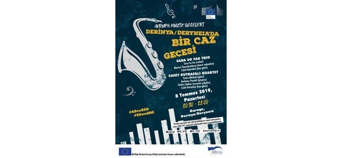 """Avrupa Müzik Geceleri kapsamında """"Bir Caz Gecesi"""" etkinliği düzenlenecek"""