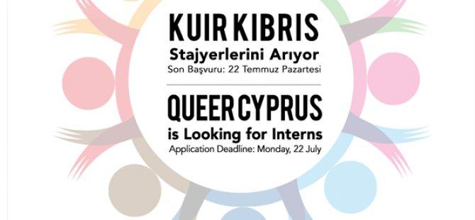 Kuir Kıbrıs stajyer arıyor