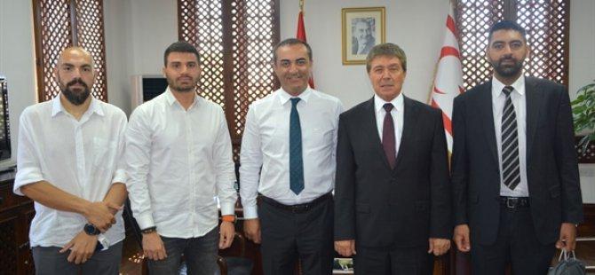 Turizm ve Çevre Bakanı Üstel, Restorancılar Birliği'ni kabul etti