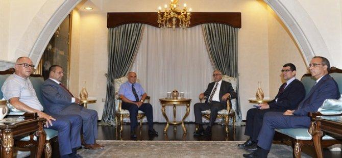 KTTO'nun eski başkanları  Cumhurbaşkanı Akıncı'ya KTTO yönetiminin davranışı nedeniyle üzüntülerini