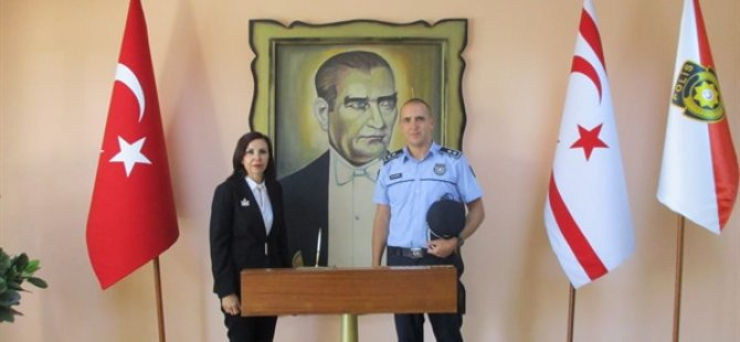 Dizdarlı, Polis Müdürlüğü Kadına Karşı Şiddete Müdahale Şubesi'ni ziyaret etti