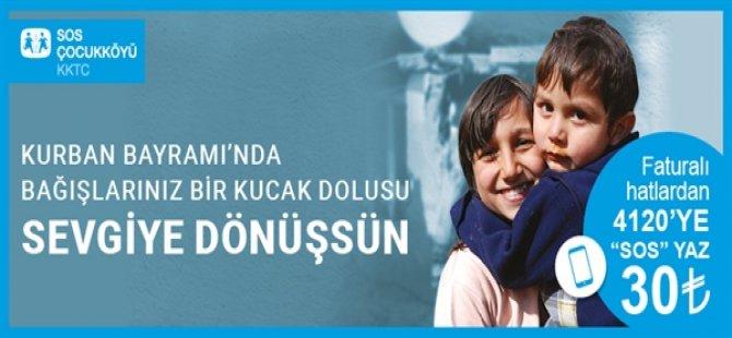 """SOS Çocukköyü Derneği'nden çağrı: """"Çocuklarımızın bayram sevincine ortak olun"""""""
