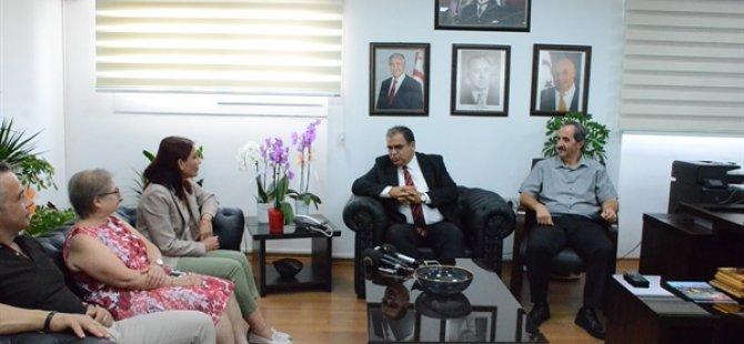 Çalışma Bakanı Tabipler Birliğini kabul etti
