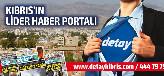 Detay Gazetesi bugün ne Manşet attı? 19 Temmuz 2019 Cuma