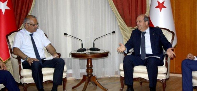 Tatar, Baf Ülkü Yurdu Spor Kulübü'nü kabul etti