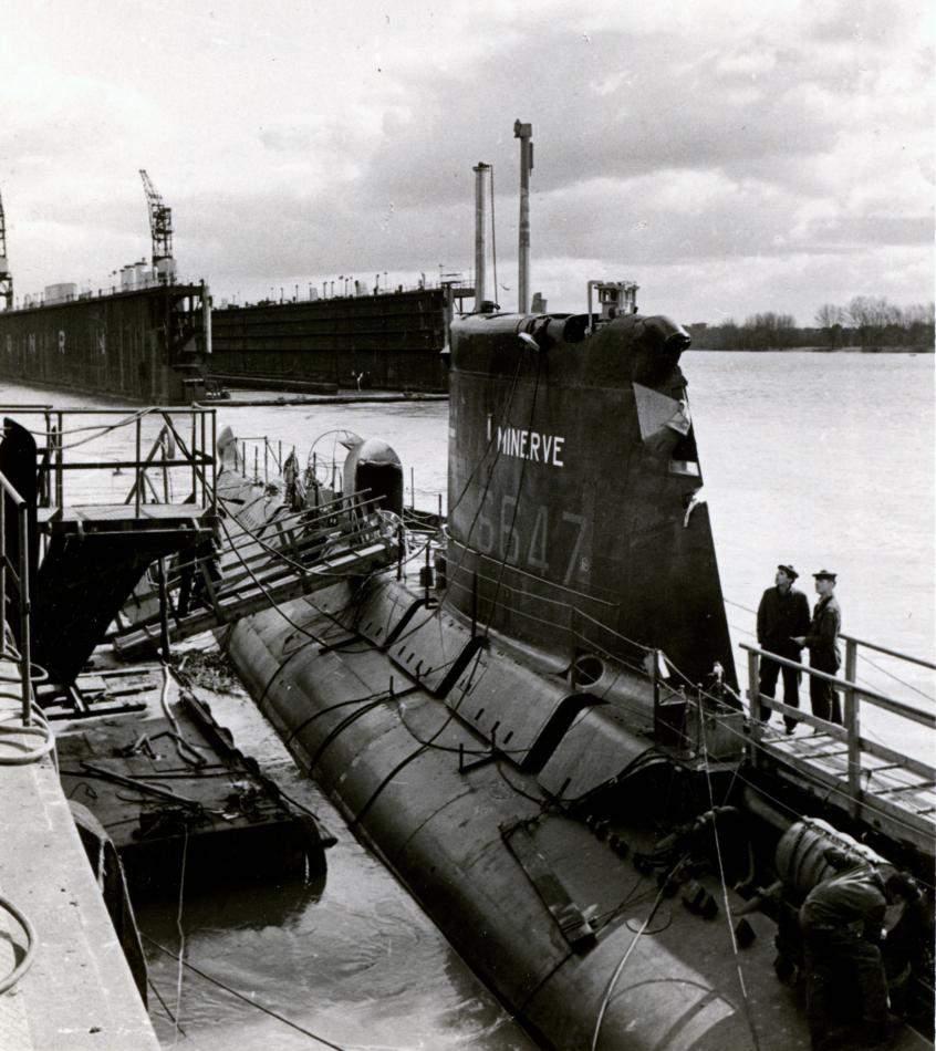 51 yıldır kayıp denizaltı bulundu