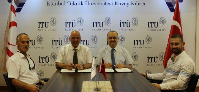 Mehmetçik Belediyesi ile İTÜ-KKTC arasında işbirliği protokolü imzalandı!