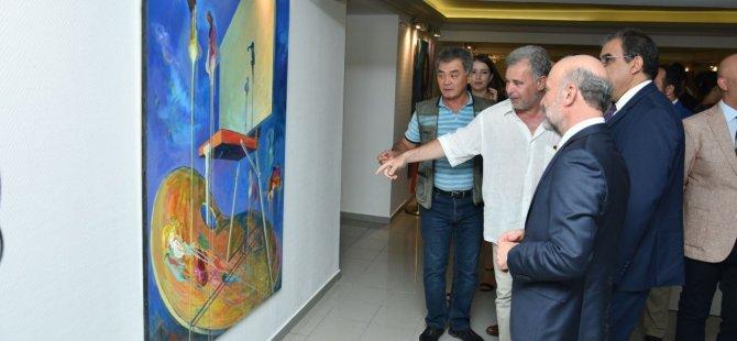Kıbrıs Modern Sanat Müzesi'nde 3 ayrı serginin açılışı yapıldı