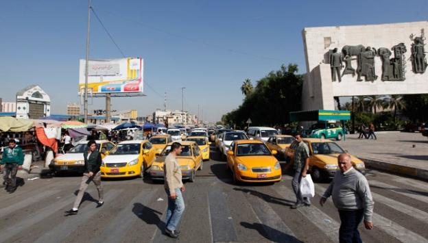 Bağdat sevinç: Sokağa çıkma yasağı kaldırıldı