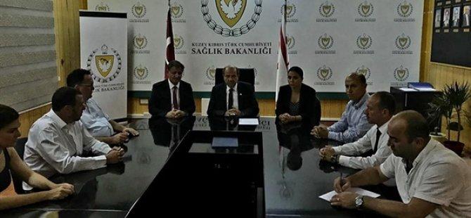 """Tatar, Pilli ve Baybars """"Batı Nil Virüsü"""" konusunda koordinasyon toplantısı yaptı"""