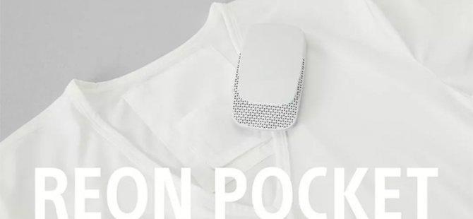 Sony'den Dünyanın İlk Giyilebilir Kliması: The Reon Pocket (Video)
