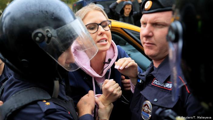 Moskova'da yüzlerce göstericiye gözaltı