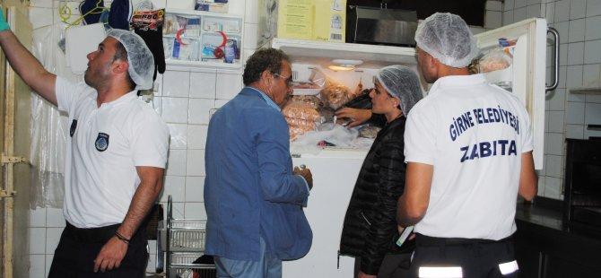 Girne'de Kurban Bayram öncesinde sağlık denetimleri yoğunlaştırıldı