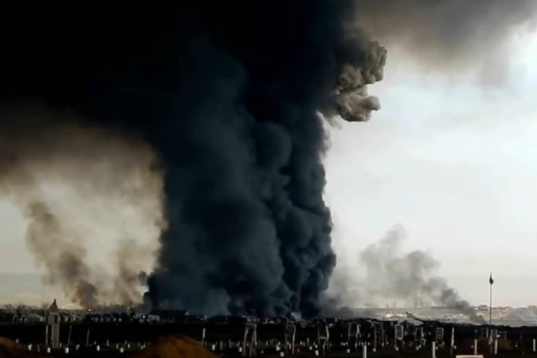 Rusya'daki roket yakıtı patlamasında ölü sayısı beş; radyasyon için yetkililer sessiz!