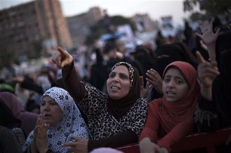 Mısır'da müdahale başladı