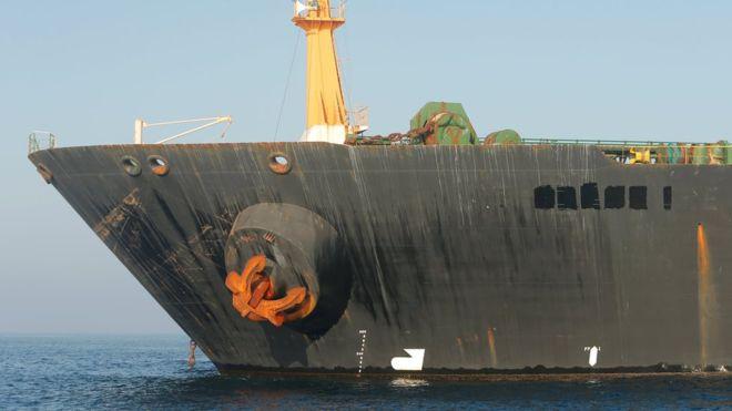 ABD Cebelitarık'tan bırakılması beklenen İran tankeri için yakalama kararı çıkarttı