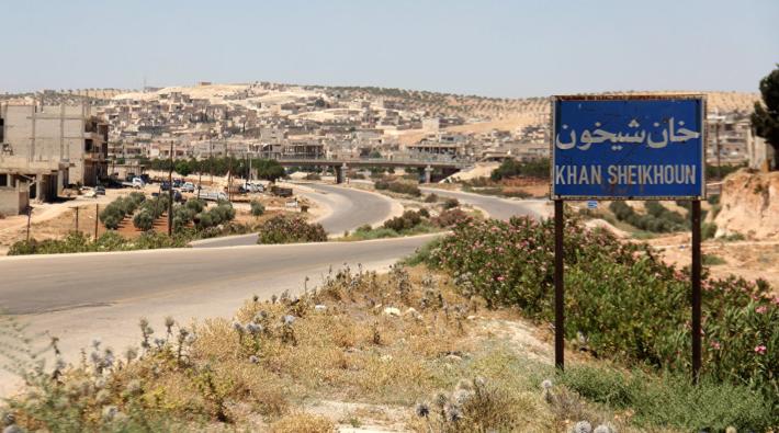 Suriye ordusu Han Şeyhun'a girdi, İdlib'e doğru ilerliyor