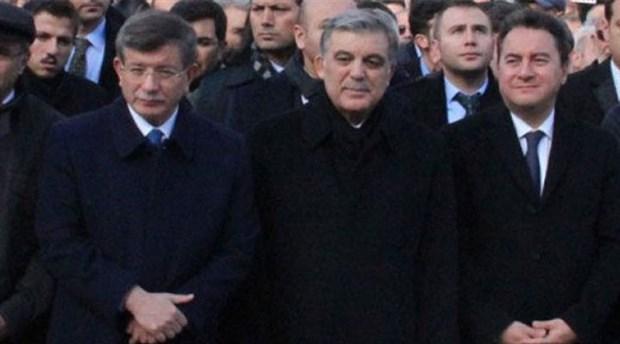 Erdoğan'dan Abdullah Gül, Ali Babacan ve Ahmet Davutoğlu'na davet yok
