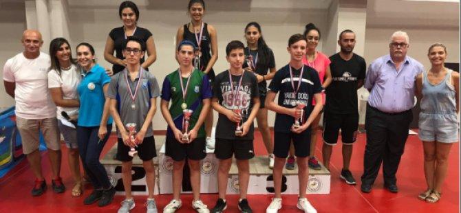 Masa Tenisinde Gençler Ferdi Klasman Turnuvası Yapıldı