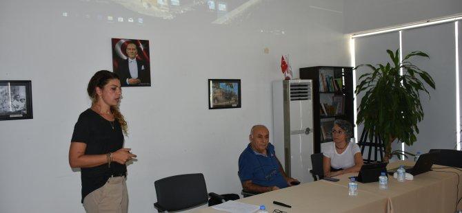 """Girne Belediyesi, """"İş sağlığı ve güvenliği"""" konularında çalışanlarına eğitim verecek."""