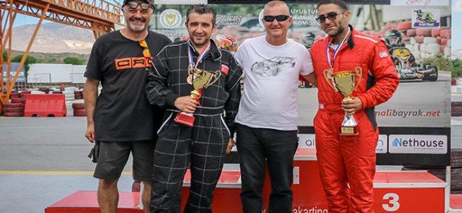 Kartingde Özçınar ve Emre şampiyon