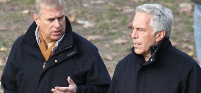 Epstein'e dava açan bir kadın: '17 yaşındayken Prens Andrew ile cinsel ilişkiye zorlandım'