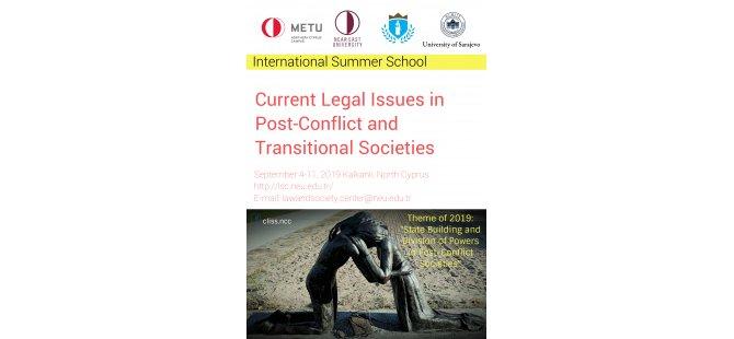 Yakın Doğu Üniversitesi Hukuk ve Toplum Merkezi uluslararası yaz okulu düzenliyor