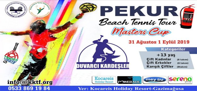 Beach Tennis Tour'un son turnuvası yarın başlıyor