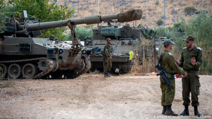 Lübnan'ın füze saldırısına İsrail'den yanıt