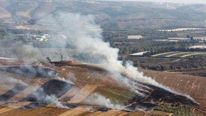 Hizbullah ve İsrail'den karşılıklı saldırılar