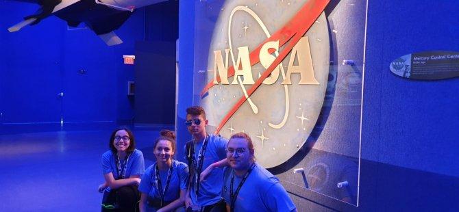 Hayalleri  Süsleyen Gezi…Yakın Doğu Koleji Öğrencileri NASA'da…