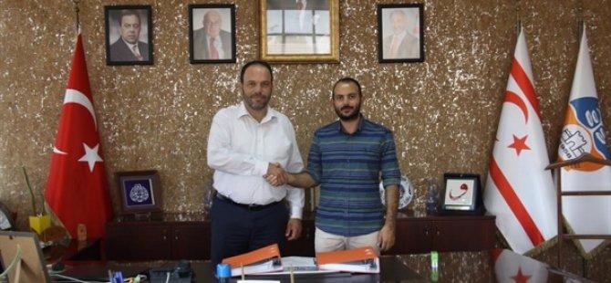 İskele Halk Plajı otopark ihalesinin sözleşmesi imzalandı