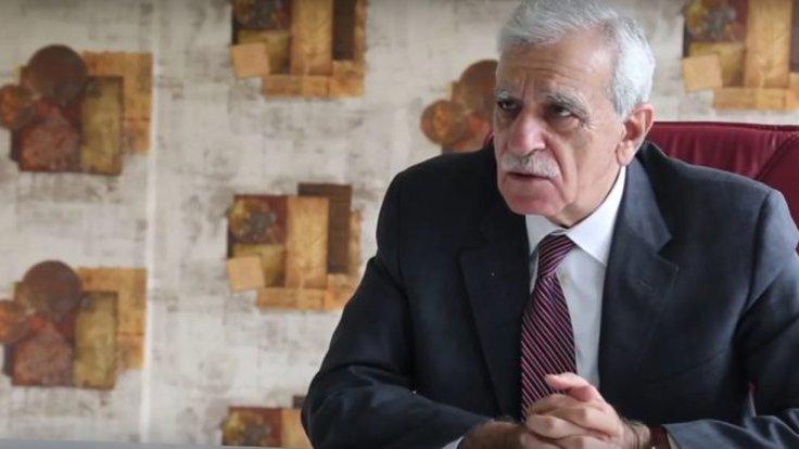 """Bülent Arınç: """"Ahmet Türk'ün terörle alakası yoktur, barış olsun isteyen biridir"""""""