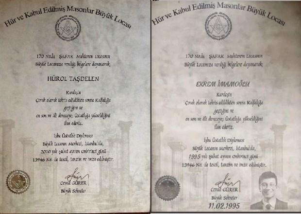 İmamoğlu'na hazırlanan sahte Mason diplomasının sahibi ortaya çıktı