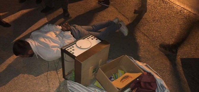 Ankara'da tombalacı operasyonu: Sırtında taşıdığı çuvalla kaçmaya çalıştı