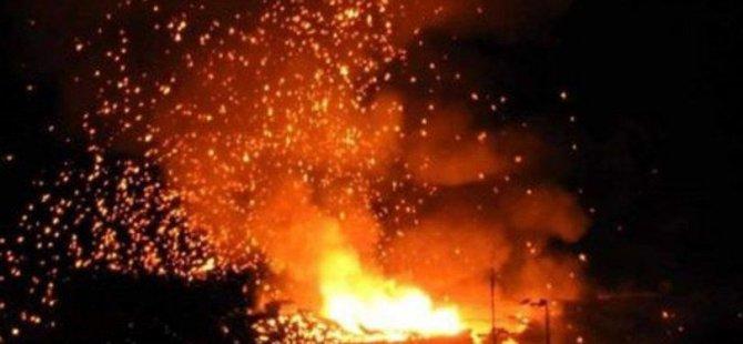 Tatar:Patlamadan etkilenen bölge 200 dönüm ve henüz patlamamış mühimmat var
