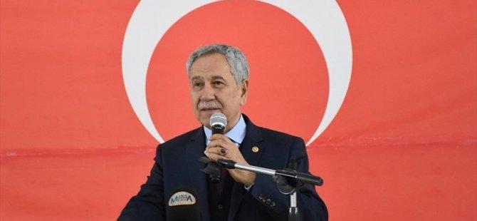 Arınç'tan AK Partili Turan'a: Boyundan büyük işlere karışma, sana yazık olur