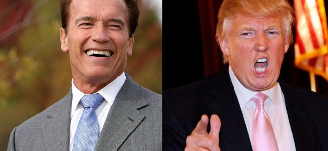 Schwarzenegger: Trump bana aşık