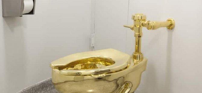 Britanya'daki saraydan 1 milyon sterlin'lik altın tuvalet çalındı