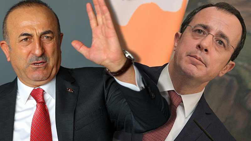 Çavuşoğlu ilk önce adını hatırlayamadı, sonra Güney Kıbrıslı mevkidaşına ismiyle seslendi: Nikos iyi çocuk ama sınırı aşmasın!