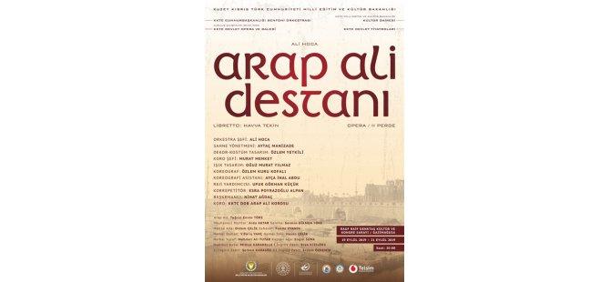 Arap Ali Destanı bu gece prömiyer yapacak
