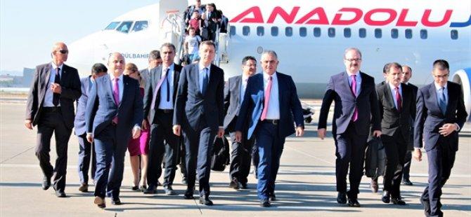Türkiye Milli Eğitim Bakanı Ziya Selçuk KKTC'de