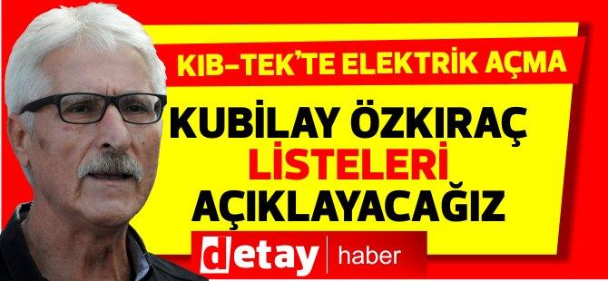 El-SEN Başkanı Özkıraç: Büyük borçluları deşifre edeceğiz!