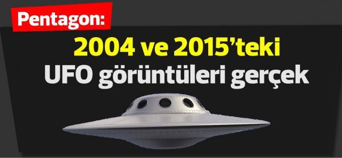 Pentagon: 2004 ve 2015'teki UFO görüntüleri gerçek