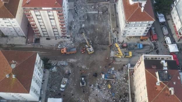 İstanbul Kartal'da çöken bina davasında tutuklu sanık tahliye edildi