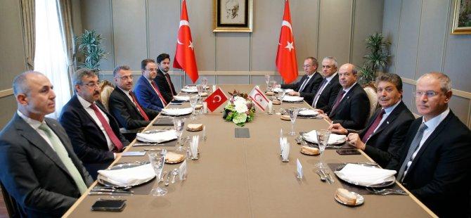 """Tatar Ankara'da.. """"İki ayrı devletli çözüm bizi selametle ileriye taşıyacak"""""""